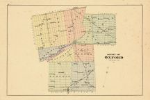 County Outline Map, Oxford County 1876